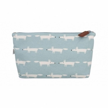 Mr Fox Cosmetic / Wash Bag Sky - Large