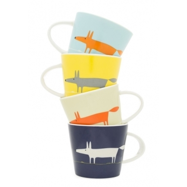 Mr Fox Espresso Cups - Set of 4