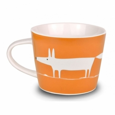 Mr Fox Mini Mug - Sand & Sea