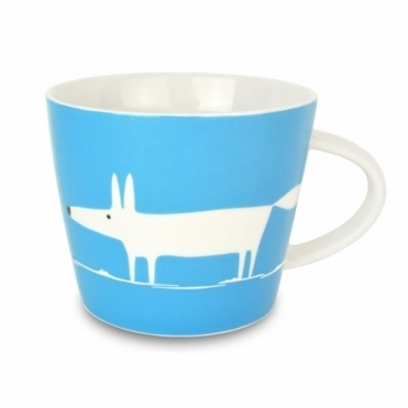 Mr Fox Mug - Cornflower