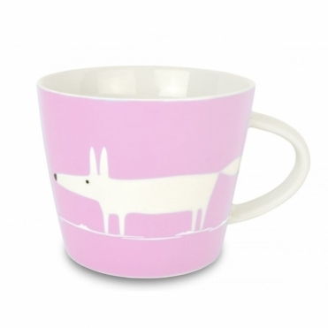 Mr Fox Mug - Flamingo