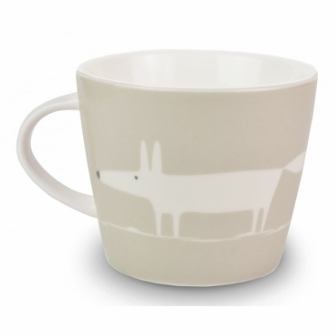 Mr Fox Mug - Light Grey