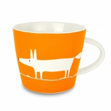 Mr Fox Mug - Mandarin