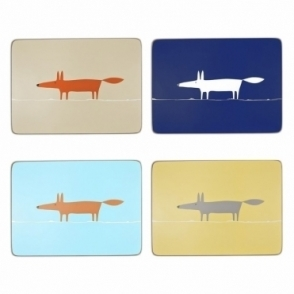 Mr Fox Placemats - Set of 4