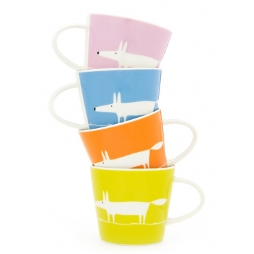 Mr Fox Spring Espresso Cups - Set of 4