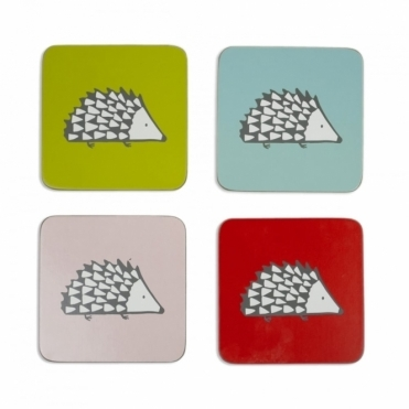 Spike the Hedgehog Coasters - Set of 4