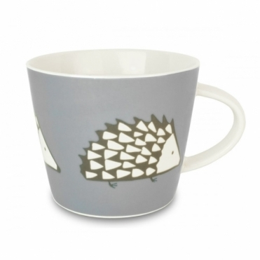Spike the Hedgehog Mug - Grey