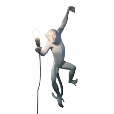 Monkey Lamp - Hanging Wall Light