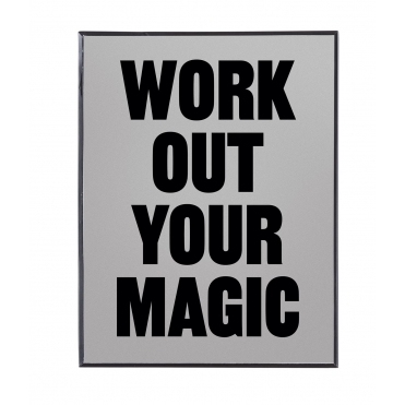 Morning Glory Wall Mirror - Work Out Your Magic