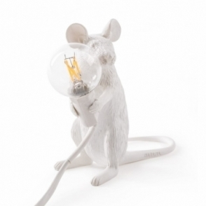 Mouse Lamp - Sitting