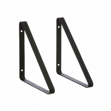 Shelf Hangers Black - Set of 2