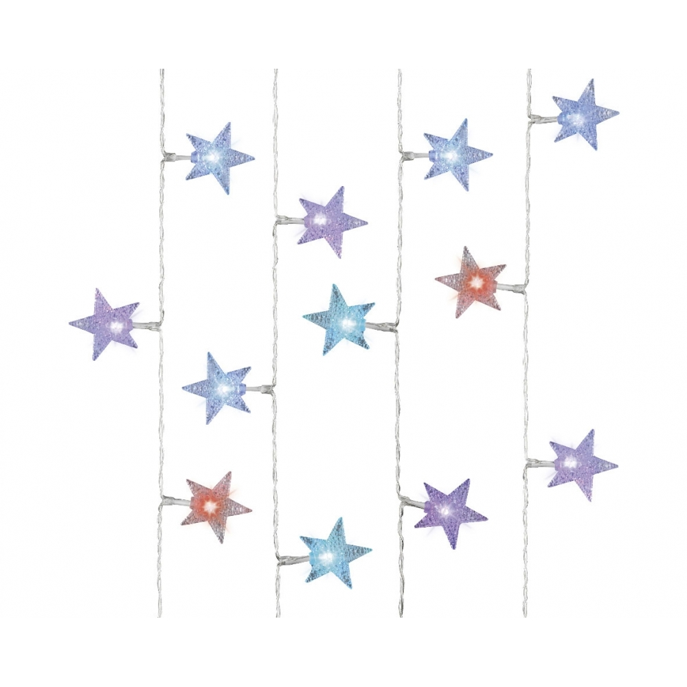 Hurn hurn discoveries shining stars colour changing led fairy string lights