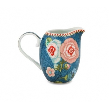 Small Blue Milk Jug