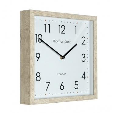 Smithfield Wall Clock - Soaped Oak