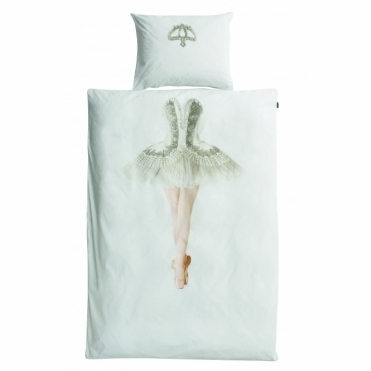 Ballerina Single Duvet Cover & Pillowcase Set