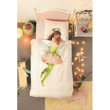 Fairy Single Duvet Cover & Pillowcase Set