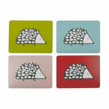 Spike the Hedgehog Placemats - Set of 4