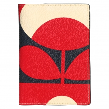 Spring Bloom Passport Cover - Ruby