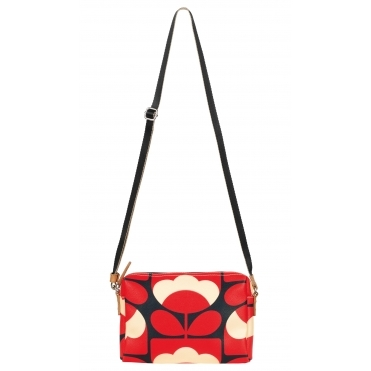 Spring Bloom Small Cross Body Bag - Ruby