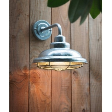 St Ives Mariner Light Galvanised Lamp