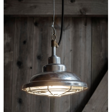 St Ives Mariner Outdoor Pendant Light - Galvanised