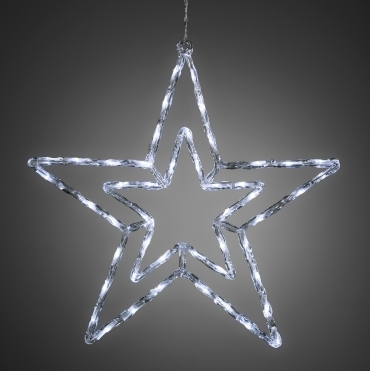 Star 58cm with 48 White LEDs - Mains Powered