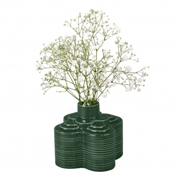 Stem Striped Petal Vase