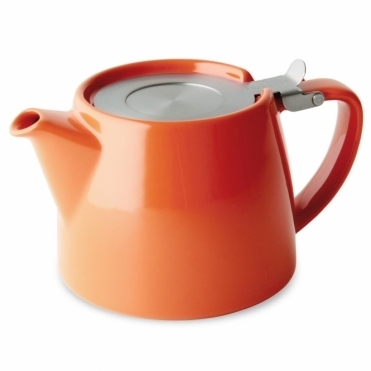 Stump Teapot 400ml - Carrot