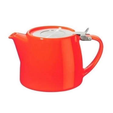 Stump Teapot 400ml - Coral