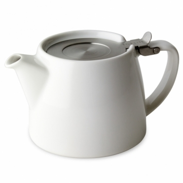 Stump Teapot 530ml - White