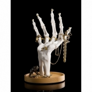 Skeleton Hand Tidy Organiser for Jewellery, Watches, Keys & Coins