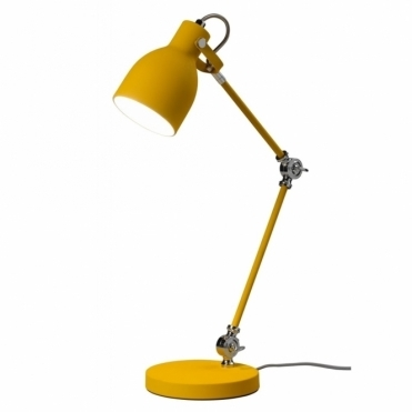 Task Lamp Table Desk Light - English Mustard