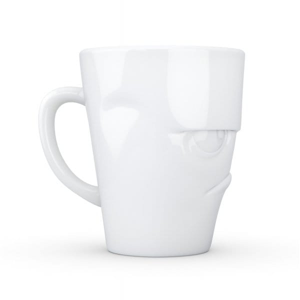Tassen Uk : Tassen grumpy face white porcelain mug hurn and