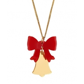 Tatty Devine Christmas Bells Necklace