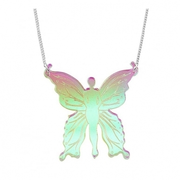 Iridescent Fairy Mini Necklace - SS17 Collection