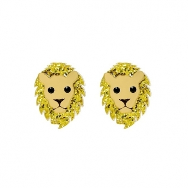 Lion Earrings - SS17 Collection