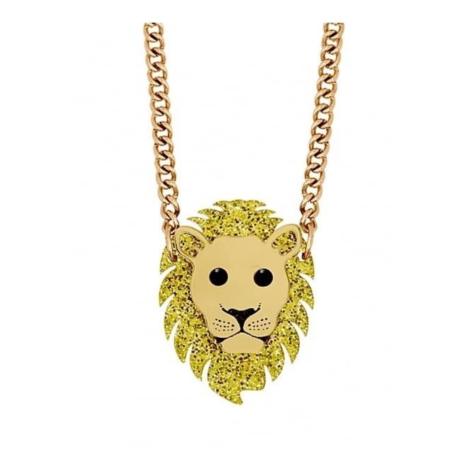 Tatty Devine Contemporary Lion Mini Necklace - SS17 Collection