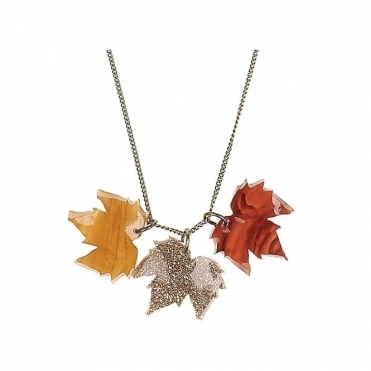 Fallen Leaves Necklace