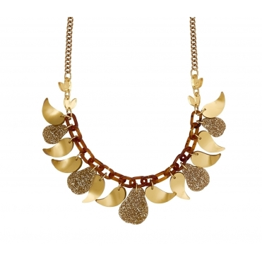 Golden Pears Necklace