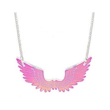 Pegasus Mini Necklace - Iridescent