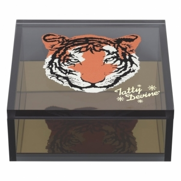 Tiger Jewellery / Storage Box - Small