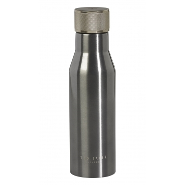 Insulated Stainless Steel Bottle - Gun Metal