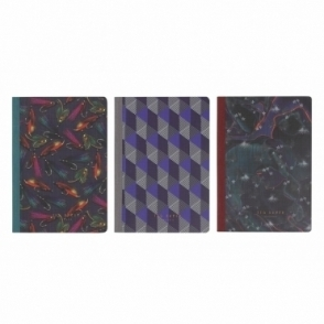 Ted Baker Mens Memo Books - Set of 3