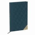 Ted Baker Mens Teal Geometric A5 Notebook