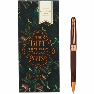 Walnut Brown Pen in Gift Box