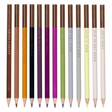 Bakers Dozen Colouring Pencils - Set of 13