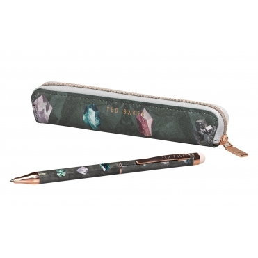 Linear Gem Pen with Touchscreen Stylus & Case