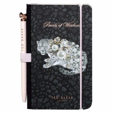 Mini Notebook & Pen Treasured Fauna