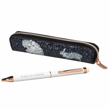 Treasured Fauna Pen with Touchscreen Stylus & Case