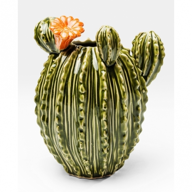 Texas Cactus Flower Vase Ornament Hurn And Hurn